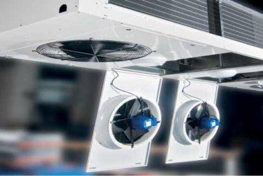 Saranoidut ja helposti avattavat puhallinluukut helpottavat laitteiden huoltoa ja puhdistamista. Säännöllinen huolto pidentää laitteen käyttöikää ja säästää käyttökustannuksia.